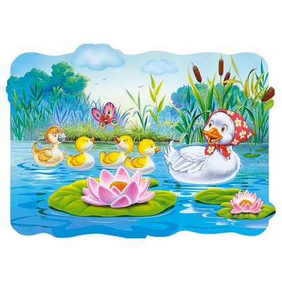 Castorland-02191 Jigsaw Puzzle - 20 Maxi Pieces : Ugly Duckling