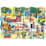 Puzzle  Castorland-02238 Daily life
