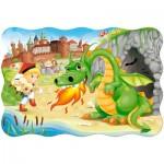 Puzzle  Castorland-02269 XXL Pieces - Dragon