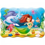 Puzzle  Castorland-02290 XXL Pieces - Little Mermaid