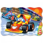 Puzzle  Castorland-02306 XXL Pieces - Racing Action