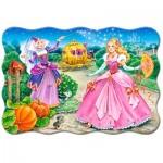 Puzzle  Castorland-02313 XXL Pieces - Cinderella