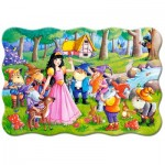 Puzzle  Castorland-02320 XXL Pieces - Snow White