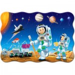 Puzzle  Castorland-02344 XXL Pieces - Space Conquest