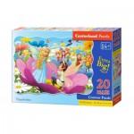 Puzzle  Castorland-02382 XXL Pieces - Thumbelina