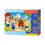 Puzzle  Castorland-02399 XXL Pieces - The 3 Little Pigs