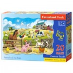 Puzzle  Castorland-02429 XXL Pieces - Farm Animals
