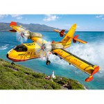 Puzzle  Castorland-030026 Fire Fighting Aircraft