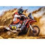 Puzzle  Castorland-030354 Dirt Bike Power