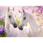 Puzzle  Castorland-030378 Romantic Horses