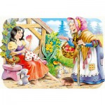Puzzle  Castorland-03211 Blanche Neige and witch