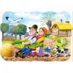 Puzzle  Castorland-03242 The big carrot