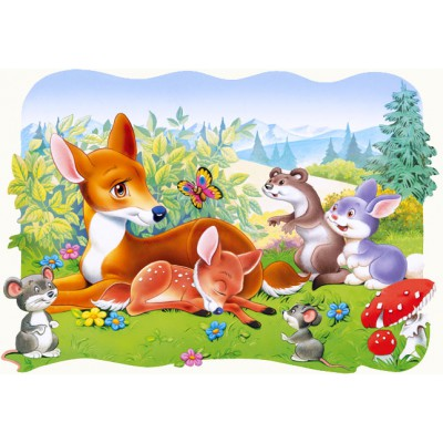 Puzzle Castorland-03266 Bambi