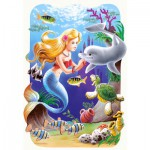 Puzzle  Castorland-03273 The Little Mermaid