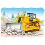 Puzzle  Castorland-03327 Bulldozer