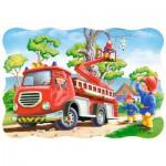 Puzzle  Castorland-03358 The kitten rescue