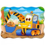 Puzzle  Castorland-03464 Yellow Digger