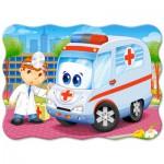 Puzzle  Castorland-03471 Ambulance Doctor