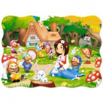 Puzzle  Castorland-03495 Snow White and the Seven Dwarfs