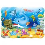 Puzzle  Castorland-03501 Underwater Friends