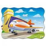 Puzzle  Castorland-03587 Plane