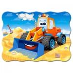 Puzzle  Castorland-03600 Funny Bulldozer