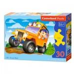 Puzzle  Castorland-03631 Off-Road Ride