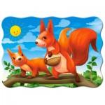 Puzzle  Castorland-03693 Squirrels