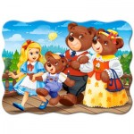 Puzzle  Castorland-03716 Goldilocks and the Three Bears