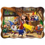 Puzzle  Castorland-03754 Snow White and the Seven Dwarfs