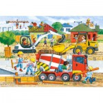 Castorland-040018 Maxi Puzzle : Construction site