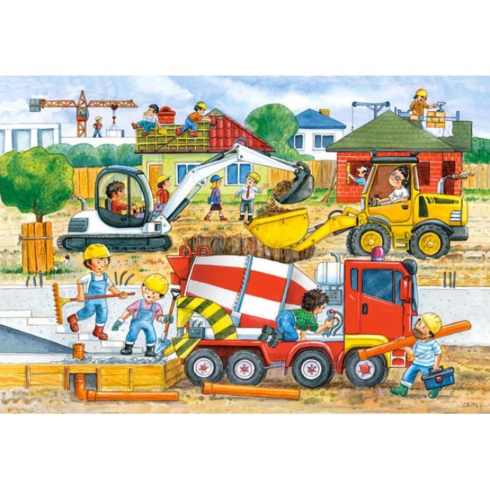 Maxi Puzzle : Construction site