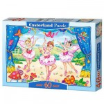 Castorland-040056 Jigsaw Puzzle - 40 Maxi Pieces : Little Ballerinas