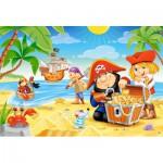 Puzzle  Castorland-040148 XXL Pieces - Pirate Treasure