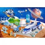 Puzzle  Castorland-040230 XXL Pieces - Space Station