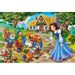 Puzzle  Castorland-040247 XXL Pieces - Snow White