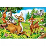 Puzzle  Castorland-040261 XXL Pieces - Dear Little Deer