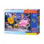 Puzzle  Castorland-040278 XXL Pieces - Cinderella