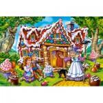 Puzzle  Castorland-040285 XXL Pieces - Hansel & Gretel
