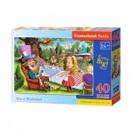 Puzzle  Castorland-040292 XXL Pieces - Alice in Wonderland