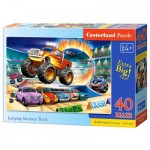 Puzzle  Castorland-040308 XXL Pieces - Jumping Monster Truck
