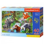 Puzzle  Castorland-040315 XXL Pieces - Jungle Animals