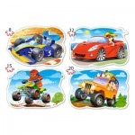 Puzzle  Castorland-043057 XXL Pieces - Ride for Fun