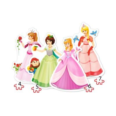 Puzzle Castorland-04409 Pretty Princesses