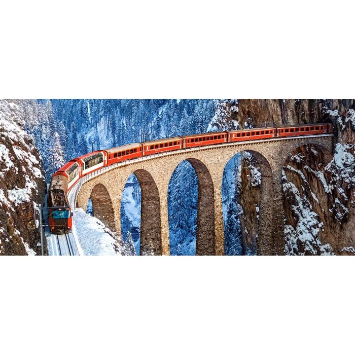 Landwasser Viaduct, Swiss Alps