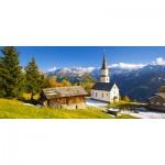 Puzzle  Castorland-060153 Church Marterle, Carinthia, Austria