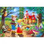 Puzzle  Castorland-06526 Hansel and Gretel