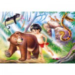 Puzzle  Castorland-06564 The jungle's book