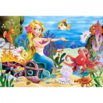 Puzzle  Castorland-06588 The Little Mermaid