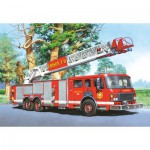 Puzzle  Castorland-06595 Fire Truck